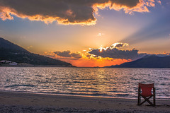 A beautiful afternoon on the beach (Vagelis Pikoulas) Tags: blue light sunset sea sky sun mountain mountains west colour reflection beach clouds canon landscape eos spring kiss europe niceshot view greece porto western 1855mm x4 attiki vilia germeno 2013 550d abigfave colorphotoaward bestcapturesaoi mygearandme kithairwnas mygearandmepremium mygearandmebronze mygearandmesilver mygearandmegold mygearandmeplatinum ringexcellence tplringexcellence photographyforrecreation musictomyeyeslevel1