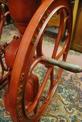 coffee mill at antique store (trish.brewer) Tags: family triangle indianapolis visit