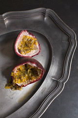 Passionfruit IV (Artichoke Photography) Tags: food home fruit grey still herbs passionfruit