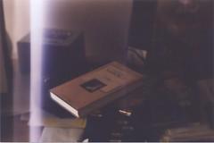 NBK (Clem Is Noise) Tags: film colors analog 35mm photography book mess desk lolita myroom nabokov kodakfilm 2011 zenitet