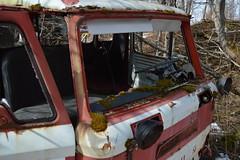 Skogsvrak Ford – Forest wreck (ArveBerntzen) Tags: road abandoned car rural forest truck countryside rust decay farm rusty skog agriculture trøndelag lastebil landbruk