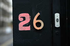 26 (Igor Clark) Tags: london 26 number shoreditch doorbell number26 20130422
