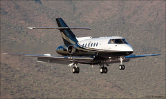 Raytheon Hawker 800 (Tom_Morris Photos) Tags: jet raytheon bizjet sdl hawker800 ksdl bae125800a xaraa scottdaleairport