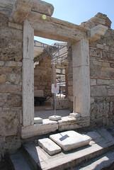 Church doorway (simonjenkins' photos) Tags: turkey ruins classical laodicea