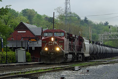CP 8542-Q495 (Photo Squirrel) Tags: railroad train maryland brunswick locomotive canadianpacific cp ge csx freighttrain railroadstructure brunswickmd tankcar railroadstation railroadcar railroadyard railroadsignal csxt hoppercar freightcar ac44cw railroadbuilding metropolitansubdivision frederickcountymd gelocomotive commuterrailstation cp8542 csxmetropolitansubdivision brunswickmarcstation brunswickmarcplatform brunswickrailroadstation northwbsignal q495