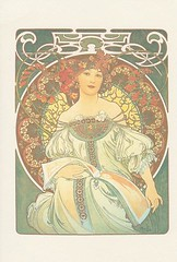 [Offer]Mucha (miyarin(mi-mo)) Tags: illustration postcard offer reverie alphonsemucha