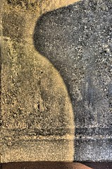 Wine Glass (Gary Baldy) Tags: shadow sea wall sunrise pentax devon defence teignmouth k20d
