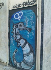 (Boreio Selas) Tags: graffiti athens greece frogs   tuiyo