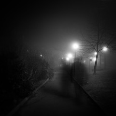 Are you afraid of the dark? (Arianna_M) Tags: longexposure bw fog night florence bn firenze ghosts bjork nebbia notte hollow fantasmi lungaesposizione breatheout ofportalsandparallelworlds alphasonydslr350 iyearntobelongletmebelongletmebelong finalmentecilasciamoquestolungoinvernoallespalle