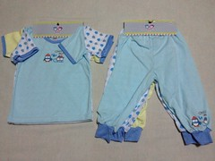 Cute summer cotton pajamas and tees for babies and toddlers (Travel Galleries) Tags: blue boy summer baby yellow t cool shirts matching toddlers pajamas tees corton uploaded:by=flickrmobile flickriosapp:filter=nofilter