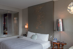 """Fabulous"" double bed (Qualterio) Tags: hotel bedroom singapore sg whotel sentosaisland designhotel wsingapore"