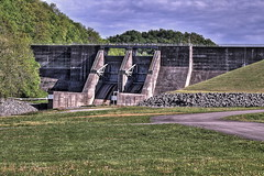 IMG_5707_5708_5709c (wesuah) Tags: dam normandy hdr