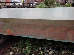 this piece was damaged by Sandy flooding, but the result was deemed artsy... (hilpalny) Tags: caterpillar highline carolboveshighlineartcommissioncaterpillar