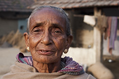 Expression (Sandeep Santra) Tags: morning portrait people woman india detail face closeup canon eos expression details oldwoman westbengal 500d incredibleindia morningcapture efs1855mmf3556is jemua
