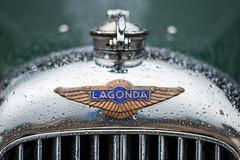 Lagonda (PaulHoo) Tags: nikon d700 lightroom 2016 apeldoorn paleis het loo concours d elegance holland netherlands detail dof bokeh lagonda grill rain shine polish oldtimer classic vintage symmetry