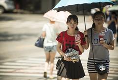 lifeinthehigh30s 7 (matteroffact) Tags: shanghai china asia heat heatwave celcius fahrenheit hot temperature summer umbrella hell hades street puxi jing an jingan district humid nikon d800 d800e andrew rochfort andrewrochfort matteroffact shade sweat
