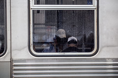 Window Seat (Phil Roeder) Tags: chicago illinois canon6d canonef70200mmf4lusm subway train ltrain window cta