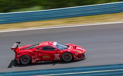 #62 Fisichella-Vilander RisiCompetizione Ferrari488GTE-7 (rickstratman26) Tags: ferrari watkins glen sportscar racing race racecar car cars motorsports imsa motorsport canon automobile sports sport panning