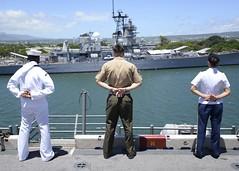 160829-N-GZ228-122 (U.S. Pacific Fleet) Tags: boxarg13meu16 ussboxerlhd4 amphibiousreadygroup 13thmarineexpeditionaryunit 13thmeu usnavy cpr1 usmarines usarmy pearlharbor hawaii usa