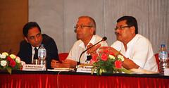 Panelist L-R Mr Madhu Kumar Marasini, Ramesh Kant Adhikari, Rajendra Pant by
