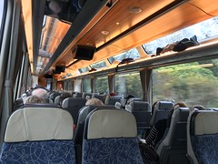 Inside KiwiRail Car
