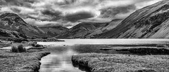 Wastwater again (rob of rochdale) Tags: scenery monochrome clouds water lake cumbria bw wastwater