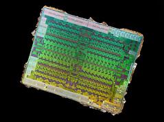 AMD@14nm@GCN_4th_gen@Polaris_10@Radeon_RX_470@1622_M60J5.0A_215-0876204___Stack-DSC07618-DSC07657_-_ZS-DMap (FritzchensFritz) Tags: lenstagger macro makro supermacro supermakro focusstacking fokusstacking focus stacking fokus stackshot stackrail amd radeon rx 470 480 polaris 10 gcn 4th gen 14nm gpu core heatspreader die shot gpupackage package processor prozessor gpudie dieshots dieshot waferdie wafer wafershot vintage open cracked
