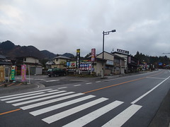 Streets of Nikko (Shutter Chimp: Im back!) Tags: mountain cloud nikko street house      shop