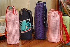 Flaschen_huellen (Two_tango) Tags: sewing crafting nhen tote bag straps