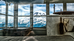 1932 (writing with light 2422 (Not Pro)) Tags: happywindowswednesday shrinerpeaktrail shrinerpeakfirelookout 1932 richborder sonya77 colorfilter washingtonstate mountrainiernationalpark mountrainier