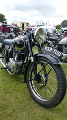 BSA Motorcycle Reg: 639 YUG (bertie's world) Tags: lincolnshire steam rally 2016 lincoln showground bsa reg 639yug