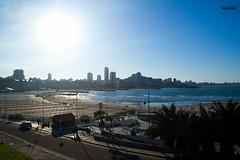 Costa Marplatense (nikovillarino) Tags: landscape mar del plata sea beach argentina