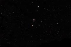 20160824 Antares-Marte-Saturno 50mm f2.28 2s iso3200 avg80 TGVD DBE MSHT curves v4 (qfwfq78) Tags: scorpio antares mars saturn alignment