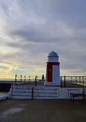 Lighthouse (RobJH82) Tags: lighthouse laxey harbour bay light morning