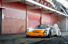 Porsche 910 (Alex m.p photography) Tags: porsche 910 thinking race car racecar oranje like this much follow