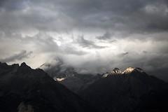 Somewhere in Nowhere (vonbueren) Tags: bewlkt berggipfel gipfel licht schatten cloud mountains landscape scenery aussicht view