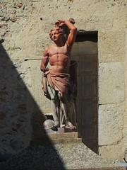 Saint Sbastien, glise St Etienne du Pedreguet (XVIIIe), place Jeanne d'Arc, Ille-sur-Tt, Ribral, Roussillon, Pyrnes Orientales, Occitanie, France. (byb64) Tags: illesurtt ribral 66 pyrnesorientales roussillon languedocroussillon pirineusorientals llenguadocrossell pirenusorientals pirineosorientales pireneiorientali linguadocarossiglione rossiglione languedocroselln rossell roselln france francia frankreich europe europa eu ue occitanie glise church city chiesa kirche iglesia igreja igrexa illa illadetet baroque baroco barocco artbaroque xviiie 18th saintsbastien