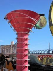 neon margarita (kenjet) Tags: neon museum drink glass boneyard lv vegas lasvegas nevada margarita margaritaglass neonmargarita neonmuseum neonboneyard red lime