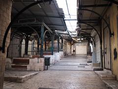 Souk de Nazareth  l'arrt 1 (F.Heusele) Tags: nazareth israel souk market march vide empty