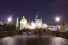 Prague (chylle) Tags: canon charlesbridge europe night prague praha travel longexposure