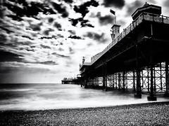 Palace Pier (pj_warlock) Tags: pier longexposure sea clouds