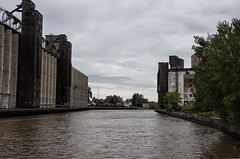 Waterfront Silos (Brian Rome Photography) Tags: urbex urbanexploration explore travel usa newyorkstate buffalo canal abandoned grain empty deserted city america american