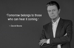 David Bowie (quasuo) Tags: davidbowie tomorrow seeit quotation quote