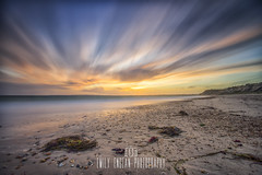 Happiness... Is being at the beach - its where I belong. (Emily_Endean_Photography) Tags: beach ocean happy hengistbury hengistburyhead dorset bournemouth seascape sea seaside nikon lee leefilters filters bigstopper longexposure clouds movement sunset