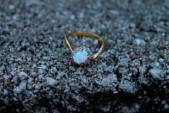 D (Harperauman) Tags: despair ring opal diamond gold deformed