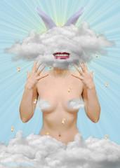 Where is my mind (Cristina Burns) Tags: cristinaburns popsurrealism contemporaryart portrait photography photovogue digitalart photoshop surrealphotography foodphotography