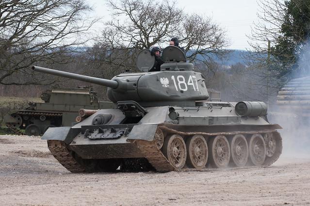 T34-85 Tank