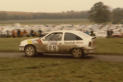 Weston Park Lombard RAC Rally Sunday 24th November 1985 (rob  68) Tags: world park wood november mike car sport championship general rally group champion andrew motors wrc co finished driver nicholson 29 12th 1985 24th rac 07 lombard astra weston vauxhall dealer gte a