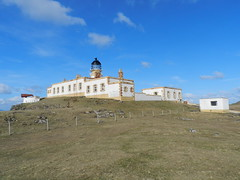 Neist Point Lighthouse(3), Isle of Skye, March 2013 (allanmaciver) Tags: light lighthouse skye monument point island for living historic safety stevenson edge automatic remote lonely 1910 horn accommodation 1909 neist lighthousetrek allanmaciver diuinish