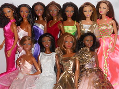 Some of my a.a. beauties! (barbie.basfash2013) Tags: barbie matteldolls barbiemodelmuse barbiebasics trichellebarbie barbiesoinstyle barbieafricanamerican barbiemarisa mbilibarbie barbierocawear gracebarbie barbieprincessdress barbiekara barbiedynastyalexisdress